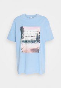 Envii - ENKULLA TEE - T-shirts print - light blue - 0
