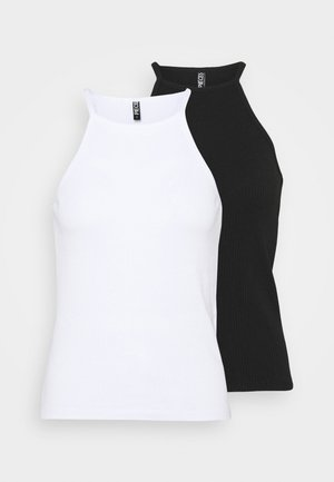 PCARDENA STRAP 2 PACK - Top - black/white