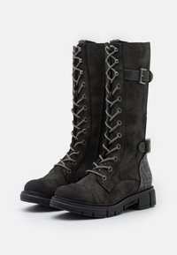 Mustang - Lace-up boots - dunkelgrau - 2