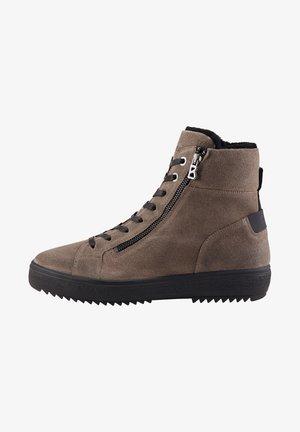ANCHORAGE MIT SPIKES - Winter boots - braun