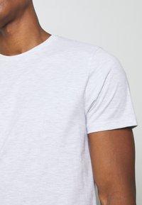 Topman - 7 PACK - Camiseta básica - mottled grey/khaki/blue - 8