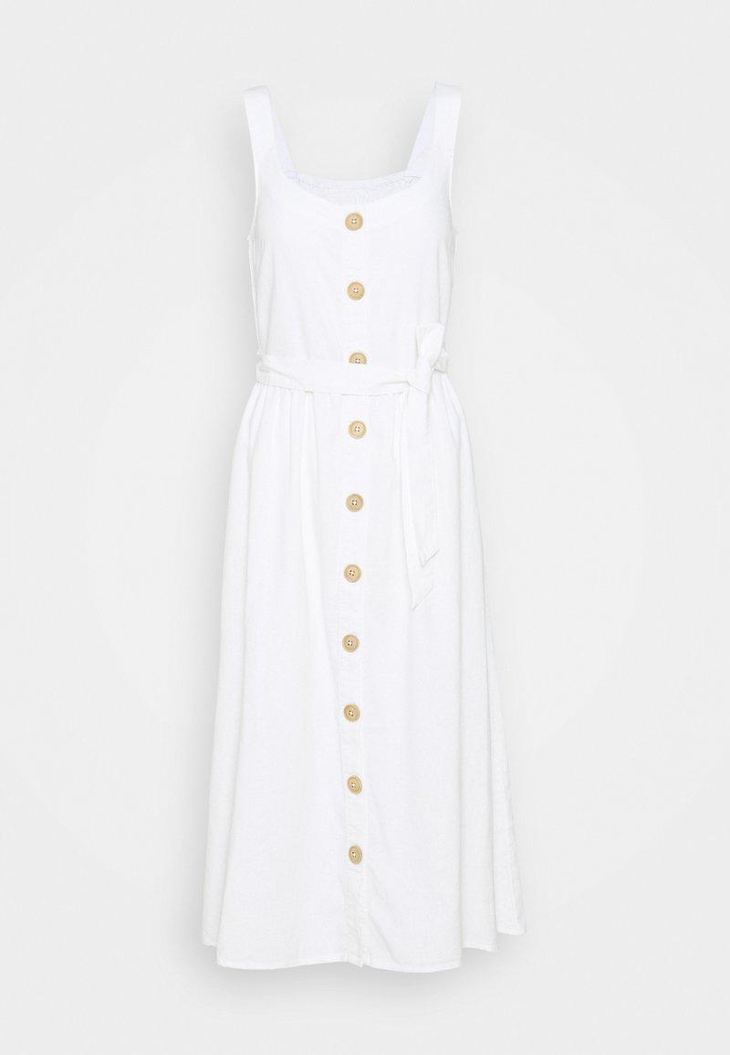 Freequent - LAVARA - Day dress - brilliant white