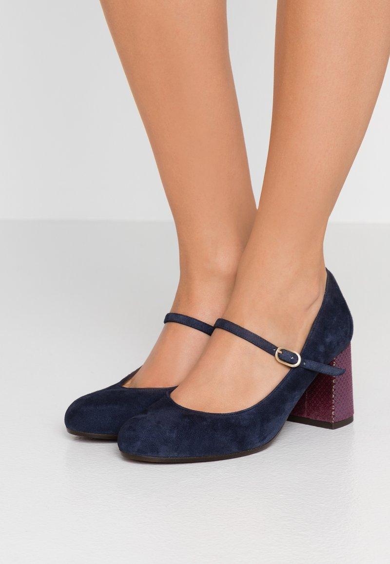 Chie Mihara - MORAT - Classic heels - nuit/lucy grape
