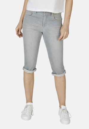 Denim shorts - hellgrau