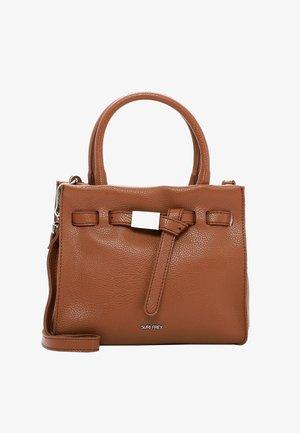 SINDY - Handbag - cognac 700