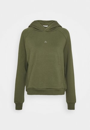 HANG ON HOODIE - Mikina s kapucí - green
