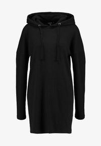 Missguided - HOODIE DRESS - Jersey dress - black - 4
