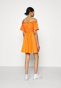 Missguided - BARDOT SKATER DRESS - Kjole - orange - 2