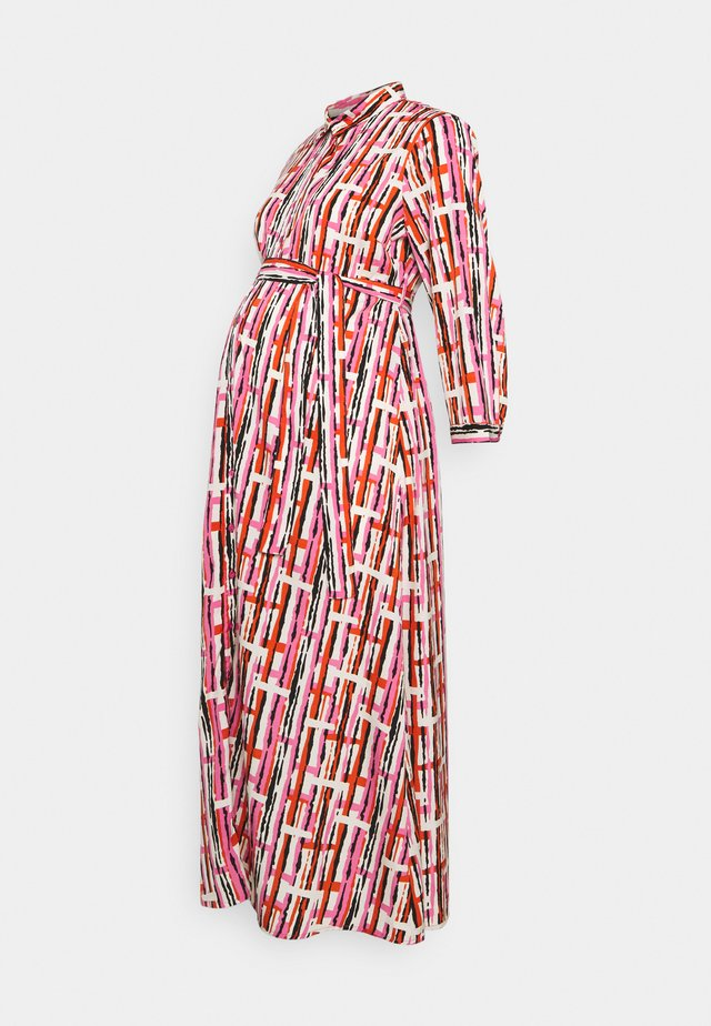 PCMROSIA - Vestido camisero - azalea pink