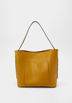 Shopping bag - dark yellow