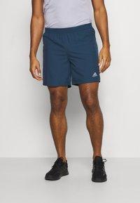 adidas Performance - RUN IT SHORT - Sports shorts - crew navy - 0