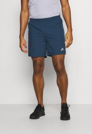 RUN IT SHORT - Pantalón corto de deporte - crew navy
