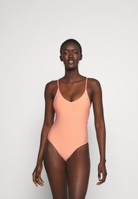ONLY - ONLKITTY SWIMSUIT - Maillot de bain - red clay/cloud dancer - 1