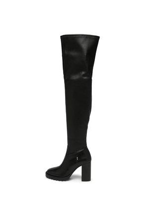 SABRINA - Overknee laarzen - black