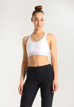 Sport-bh met medium support - white