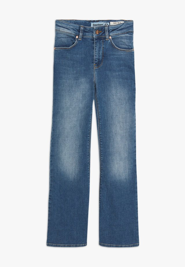 ANNE - Jeans a zampa - light blue denim wash