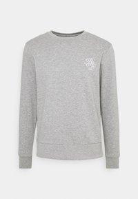 ARTHUR - Sweatshirt - grey marl/optic white