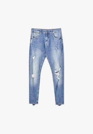 Skinny džíny - blue-grey