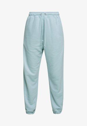 OVERSIZED JOGGER - Pantalones deportivos - blue