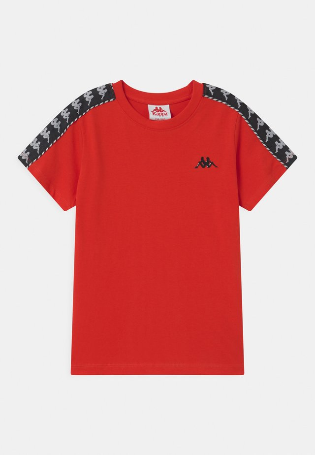 ILYAS UNISEX - T-shirt con stampa - fiery red