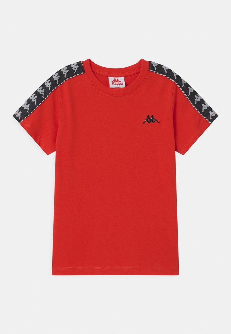 Kappa - ILYAS UNISEX - Print T-shirt - fiery red