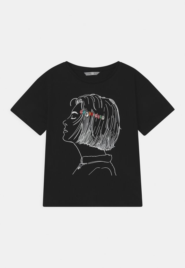 JILLIAN - T-shirt imprimé - black