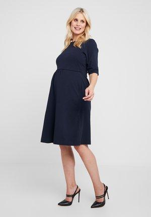 LINNEA DRESS - Žerzejové šaty - midnight blue