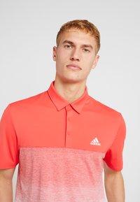 adidas Golf - Funkční triko - real coral/white - 3