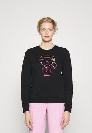 KARL IKONIK OUTLINE - Sweatshirt - black
