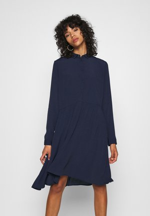 BINDIE DRESS - Shirt dress - navy blazer