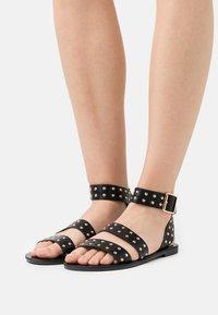 Even&Odd - Sandals - black - 0