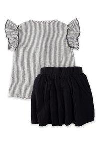 Cigit - SET - Pleated skirt - stone - 1
