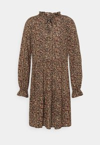 Vero Moda - VMHIBISCUS TIE DRESS - Day dress - beige