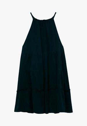 Day dress - mottled black
