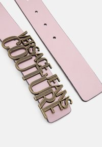 Versace Jeans Couture - LETTERING BUCKLE - Riem - rosa intimo - 2