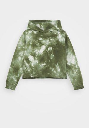 GIRLS BOXY HOODIE - Jersey con capucha - army green