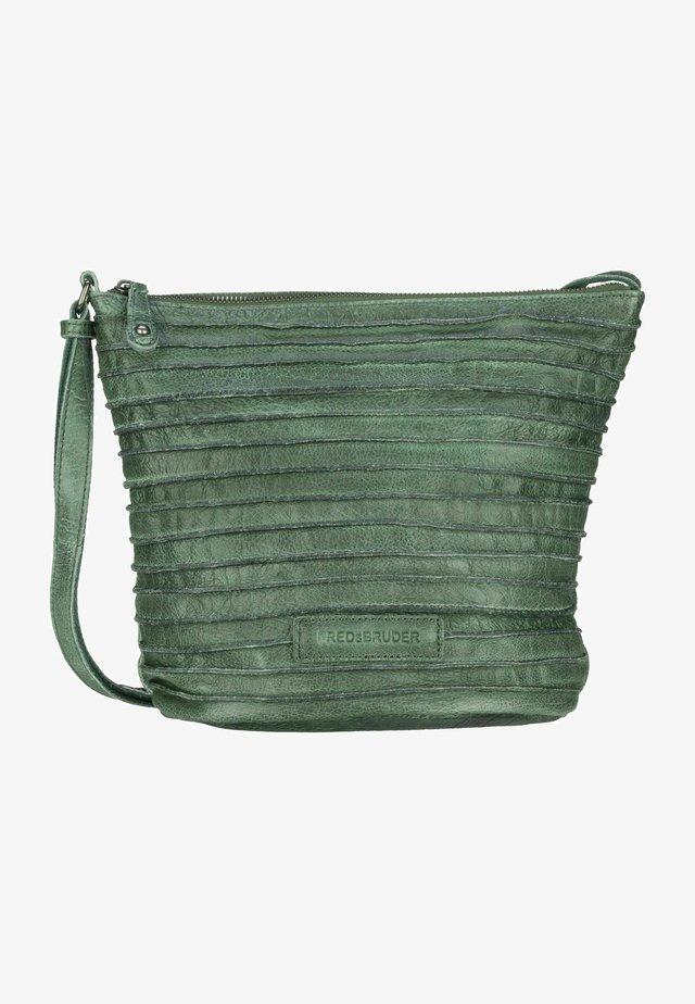 Across body bag - sea green