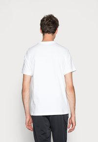 Nike Sportswear - TEE JUST DO IT - T-shirt con stampa - white/black - 2