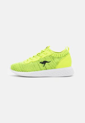 K-ACT STASH - Tenisky - neon yellow/jet black