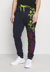 Carlo Colucci - UNISEX - Tracksuit bottoms - navy - 0