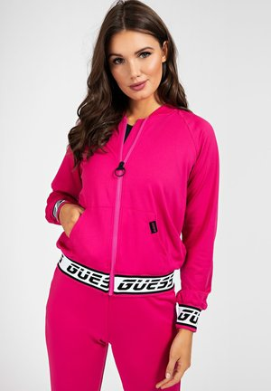 Fleece jacket - roze multi
