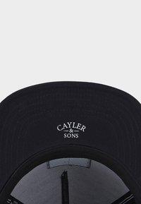 Cayler & Sons - KING LINES - Cap - black/mc - 4