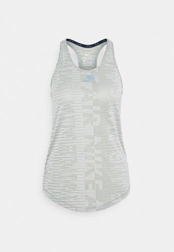 AIR TANK - Sports shirt - light army/stone/black