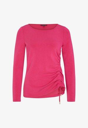 Long sleeved top - deep pink