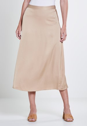 SKIRTS LIGHT WOVEN - A-line skirt - sand
