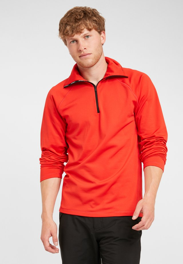 CLIME - Sweat polaire - fiery red