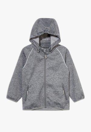 CARLO - Softshellová bunda - melange grey
