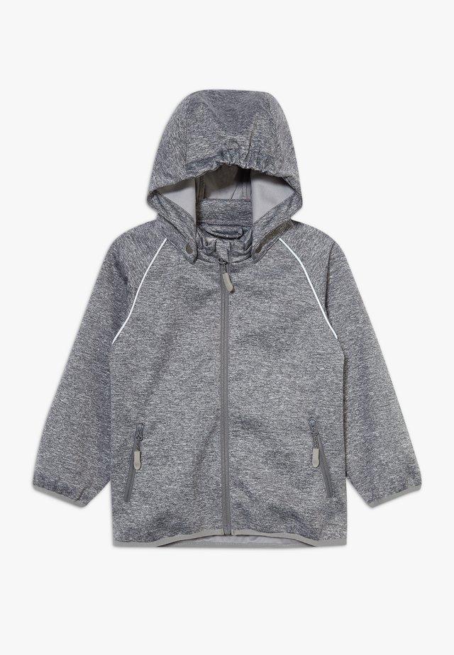 CARLO - Softshelljas - melange grey