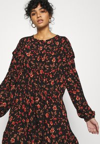 Free People - FLOWER FIELDS MINI - Day dress - dark combo - 3