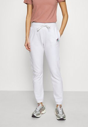 ROSE COLLECTION PANTS - Tracksuit bottoms - white